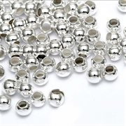 Metalperle - spacer. Gunmetal. 2.5 mm. 600 stk.
