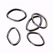 O-ringe. Oval. Gunmetal. 8 mm. 50 stk.