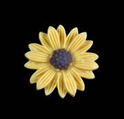 "Resin cabochon ""Marguerit - Daisy"""