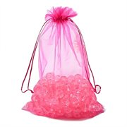 Organza - chiffonpose. XL. Hot pink. 300 mm